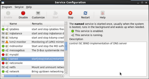 Screenshot-Service Configuration