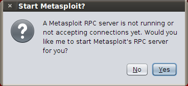 Screenshot-Start Metasploit$%