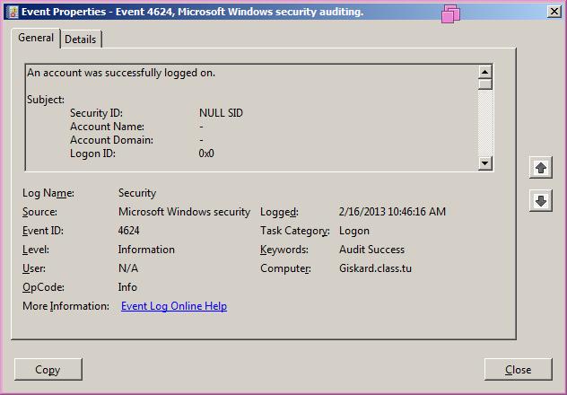 05- Windows Logging, Splunk, SSH, File Shares, & Situational