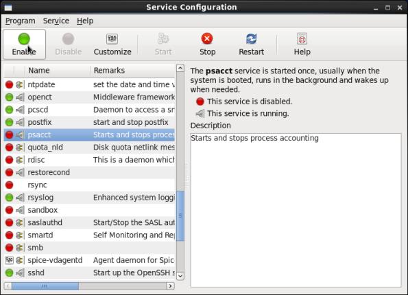 Screenshot-Service Configuration
