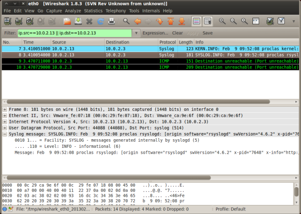 Wireshark-Out
