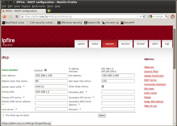 Screenshot-IPFire - DHCP configuration - Mozilla Firefox
