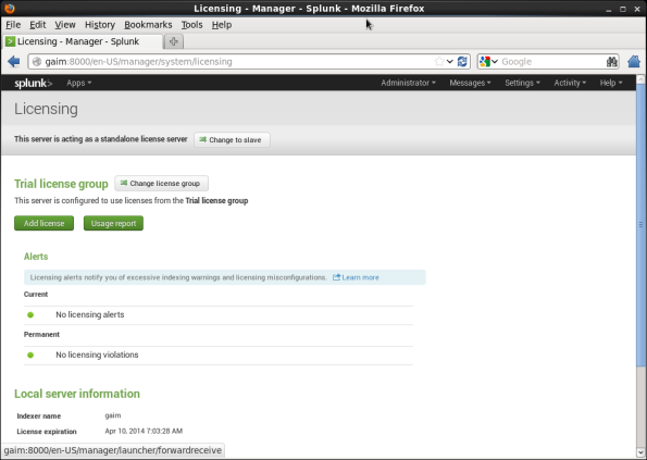 Screenshot-Licensing - Manager - Splunk - Mozilla Firefox