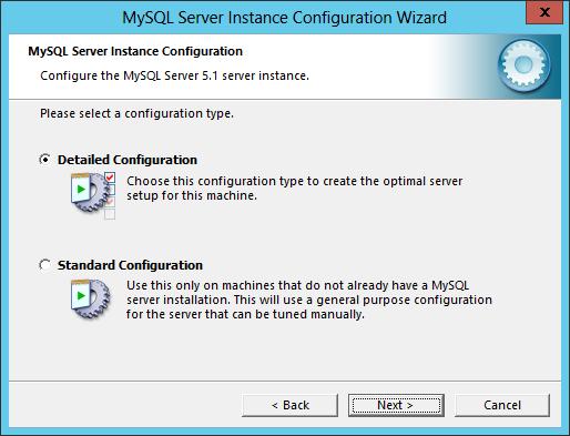MySQL Server Instance