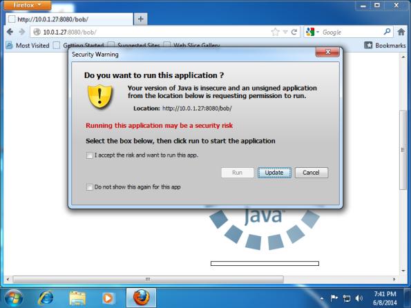 Java Warning #3
